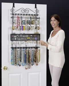 Attrayant Longstem #6100 Over The Door Jewelry Organizer Valet ~ Patented ~ Rated  Best ~