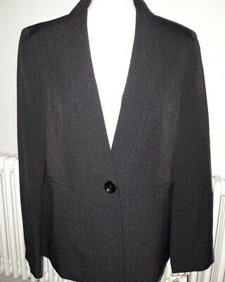 Ladies Kasper Black & Red Pinstripe Blazer. UK 16, US 12. New with Tags.