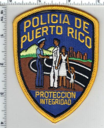 Policia de Puerto Rico Proteccion Integridad Small Shoulder Patch 1980