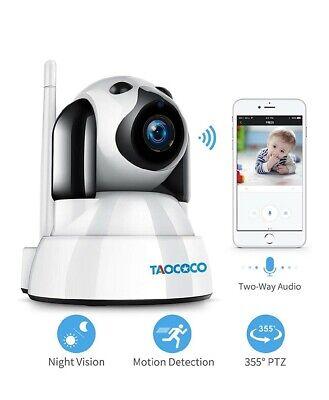 TAOCOCO Dog Camera: FHD Pet Camera WiFi IP 2.4GHz Dome Camera, Baby Monitor, Wir