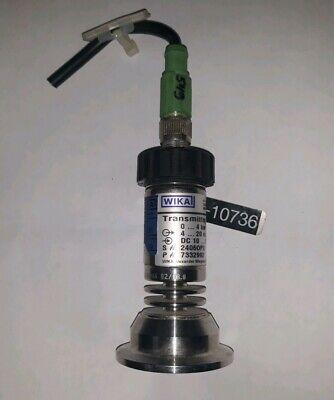 Wika Sa-11 Pressure Transmitter 7332992 Used