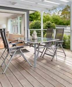 Outdoor Table and 6 recliner chairs North Narrabeen Pittwater Area Preview