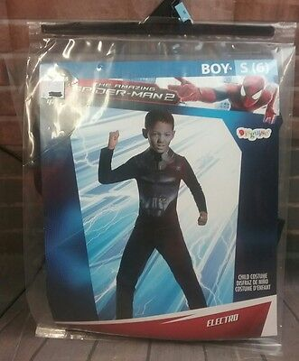 The Amazing Spider Man 2 Halloween Costume (MARVEL,The Amazing Spider Man 2,Electro Kids Halloween)