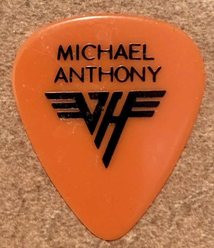 Michael Anthony 1984 Tour Bass Pick  - Van Halen
