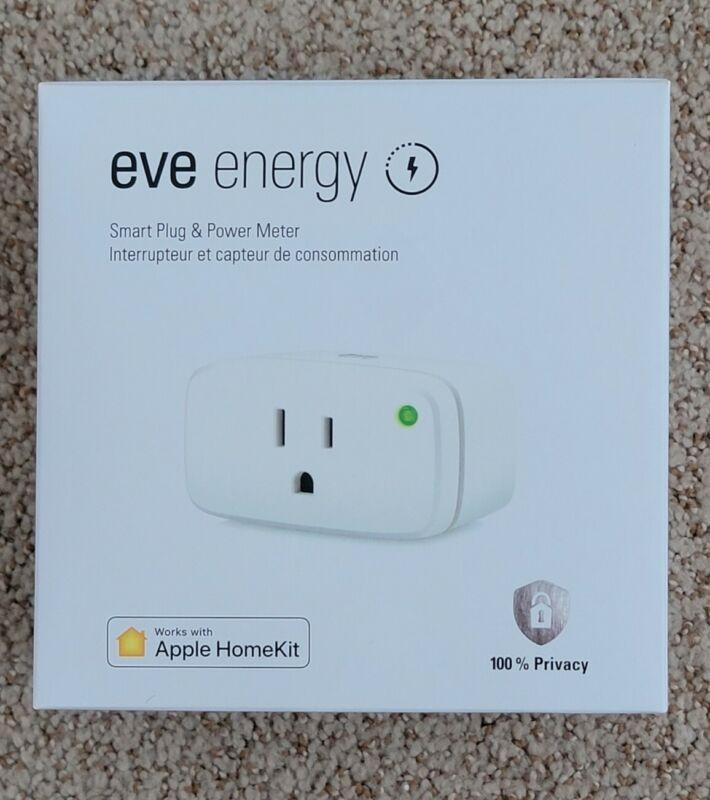 New EVE Energy Outlet (w/ Thread) Smart Plug & Power Meter for APPLE HomeKit 