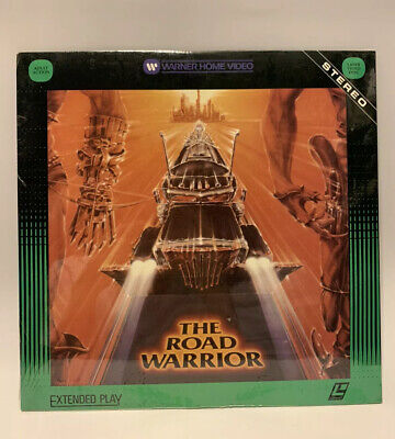 NEW SEALED Vintage Mad Max 2 The Road Warrior Laserdisc Movie [Action,