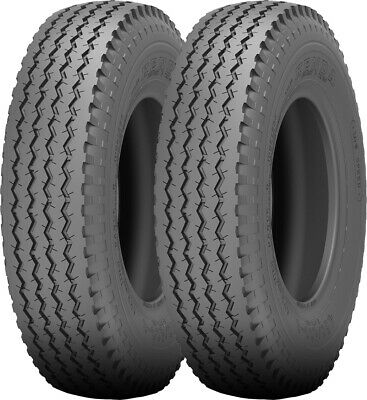 2 - 4.80/4.00-8 Kenda Loadstar K371 Bias Trailer Tire LRB 4Ply 4.80-8 - Loadstar Trailer Tire