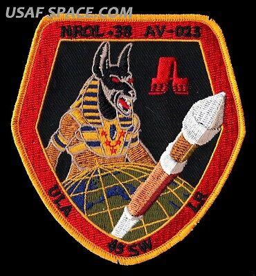 ORIGINAL - NRO L -38 - ANUBIS - ATLAS V ULA USAF DOD SATELLITE Launch PATCH