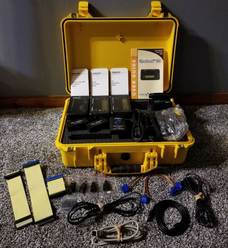 Ultrablock V4.1 Kit In Case and Accessories T8-R2, T35es, IDE Bridge & More