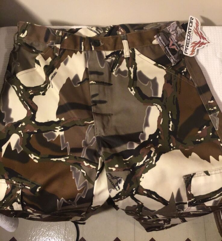 Men's Camouflage Hunting Pants PREDATOR CAMO Brown Deception Brand NWT