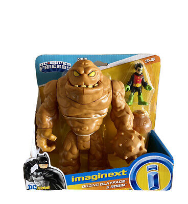 Imaginext Oozing Clayface & Robin DC Super Friends Fisher-Price #GBL27