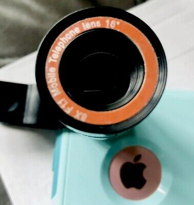 8X Zoom Telephoto Telescope Lens Phone Camera Clip For iPhone XR 6/7/8 US Seller