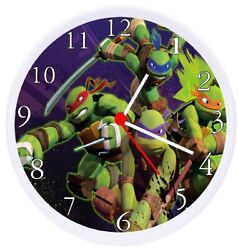 Teenage Mutant Ninja Turtles Wall Clock TMNT