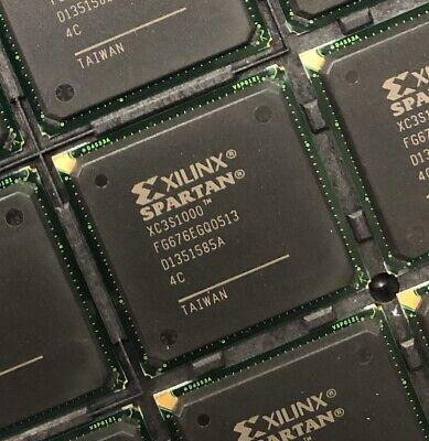 Xilinx Xc3s1000-4fg676c Fpga 1920 Clbs 1000000 Gates 630mhz 17280-cell Cmos