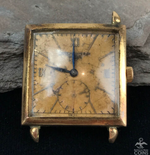 PATEK PHILIPPE REF. 1432 18K ROSE GOLD 1940s - watch picture 1