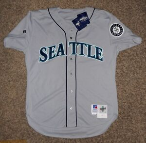 1995 Seattle Mariners Game Used Worn Strike Jersey - #3  Alex Rodriguez' Number!