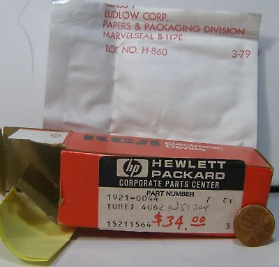 Hp Rca Tube 4062 Sealed In White Bag 1921-0044