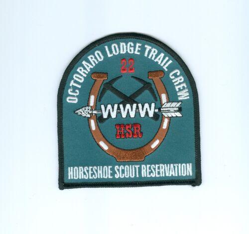 OA  Lodge 22 Octoraro Trail Crew patch