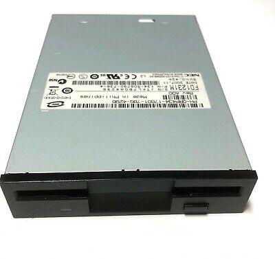 "Dell RP434 NEC FD1231M Internal Black 1.44MB 3.5"" Floppy Disk Drive  NEW PULL!"