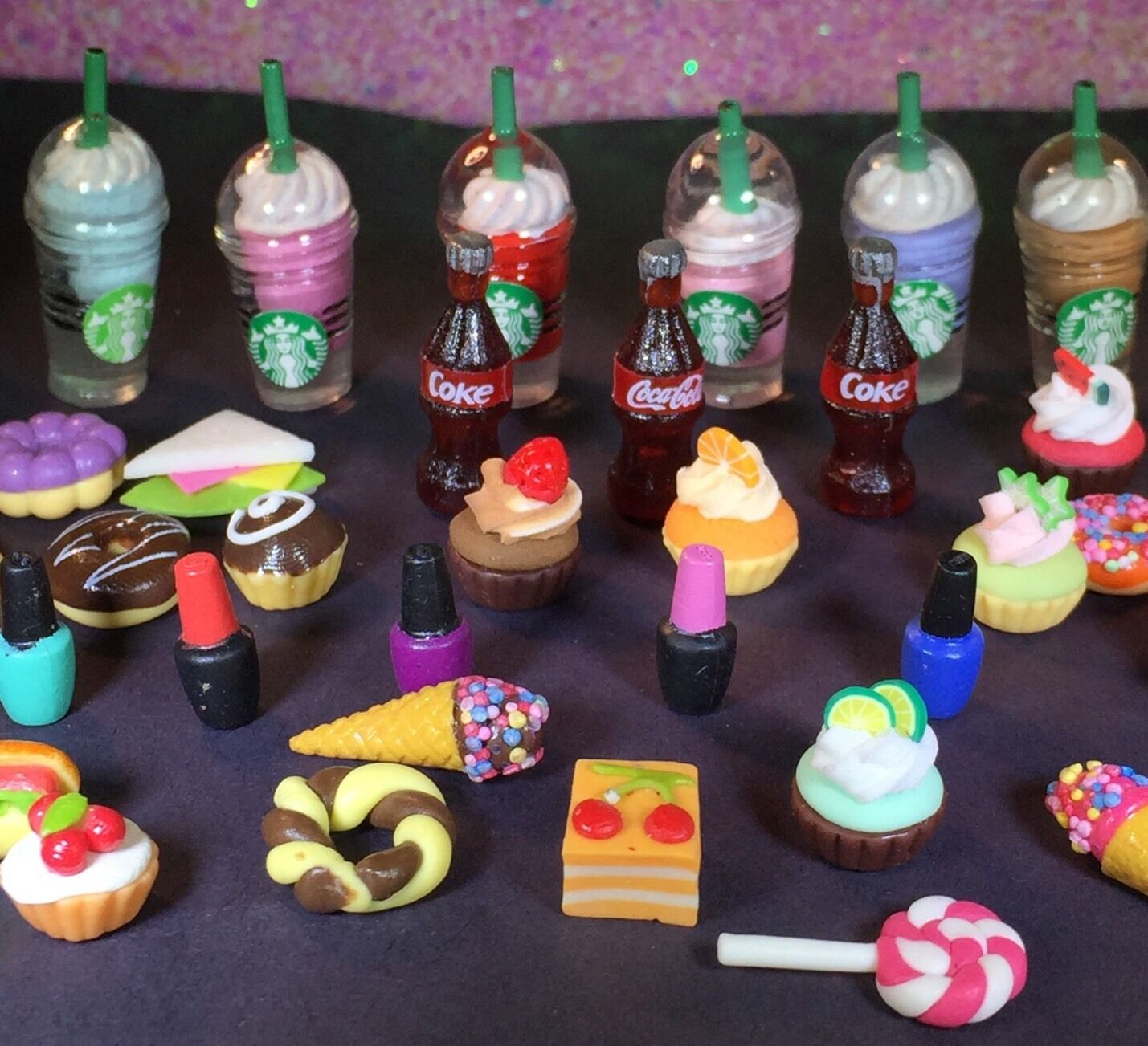 Coffee Cups White Littlest Pet Shop LPS Accessories 5 Starbucks Frappe