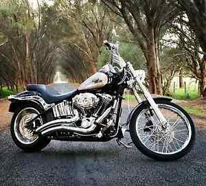 2007 Harley Davidson softail custom FXSTC Byford Serpentine Area Preview