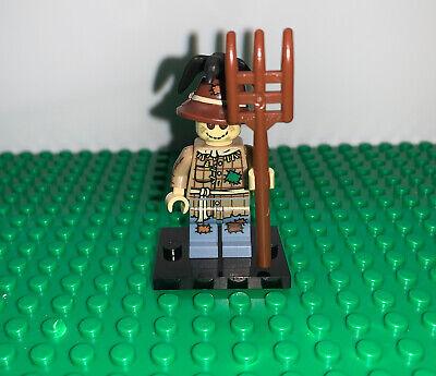 used Lego Minifigure SCARECROW - Collectible Minifigure series 11 Halloween lot