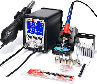 Yihua 995d 2 In 1 Hot Air Rework And Soldering Iron Station - Multiple F