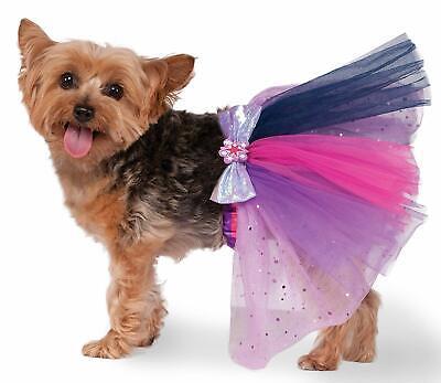 Twilight Sparkle Tutu My Little Pony Fancy Dress Halloween Dog Cat Pet Costume ()