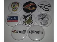 Transfers 07052 Cinelli Bicycle Head Badge Stickers Decals