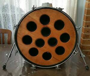 BASS DRUM WINE RACK Sans Souci Rockdale Area Preview