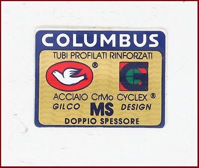 Sticker Decals Concorde Columbus EL Fork Fork Decal 2x Set Vintage