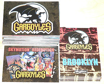 Gargoyles Series 1 - 90 cards and 10 Popups with a Skymotion redemption card. on Rummage