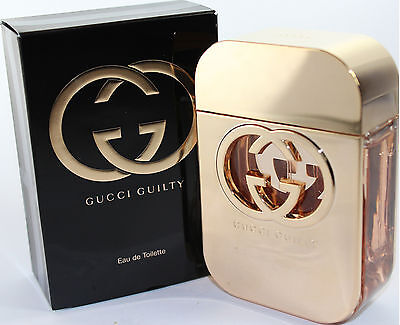 GUCCI GUILTY BY GUCCI 2.5 OZ EDT SPRAY FOR WOMEN NEW IN BOX