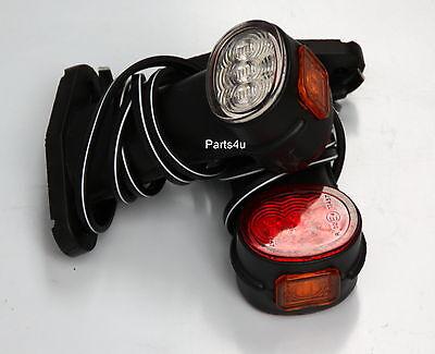 1 Paar LED Anhänger Positionsleuchten Begrenzungsleuchten Umrissleuchte 12v 24v