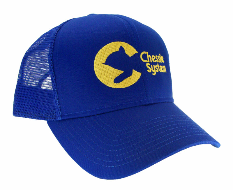 Chessie System Embroidered Railroad Mesh Cap Hat #40-0035rm