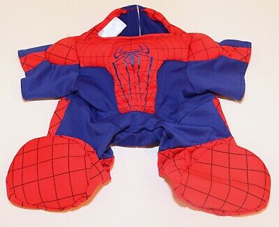 ❤️Build a Bear Plush Marvel Spiderman Costume Outfit Suit Clothes Dress Up❤️ (Spiderman Dress Up Outfit)