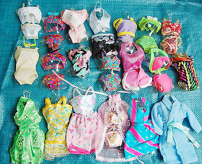 25   P   〓 (10 clothes+10 shoes + 5 hangers) for Barbie Doll tyy865