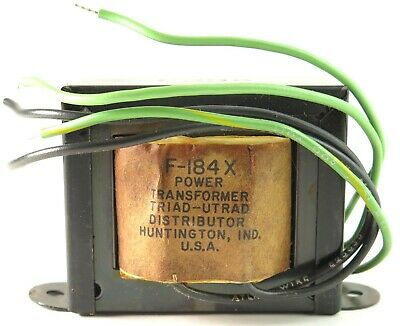 Triad F184x F-184x Power Transformer Pri. 115vac Sec. 28vct 1.0 Amp