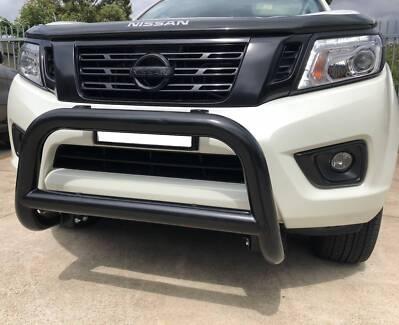 Black Nudge Bar Bullbar Bumper Guard for UTE pickup SUV Style D
