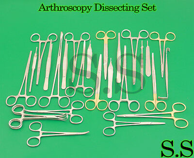 32 Pieces Arthroscopy Dissecting Set Surgical Instruments Ds-1129