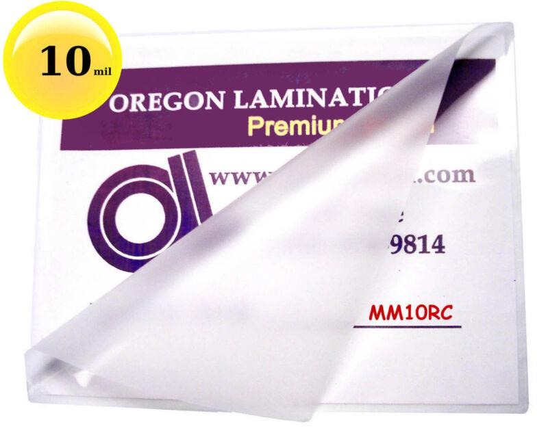 10 Mil Hot Mini Menu Laminating Pouches for 11x17 sheets 11-1/4 x 17-1/4 [50]
