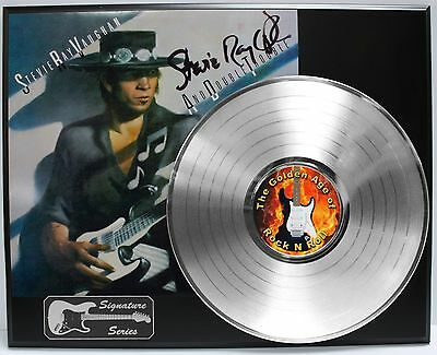 Stevie Ray Vaughan Reproduction Signature Platinum LP LTD Edition USA Ship Free