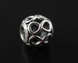 Original Pandora Element Charm 791872 Unendlichkeit NEU 925 Sterling Silber