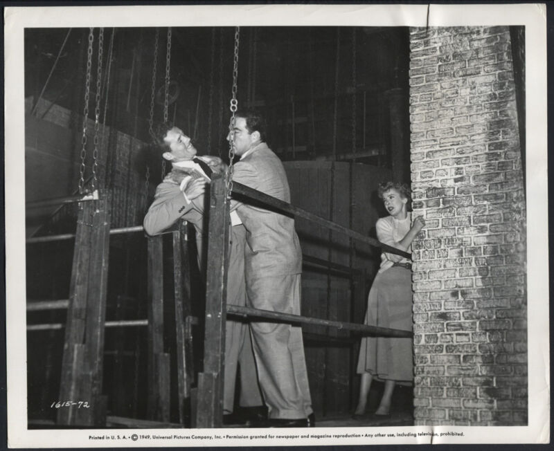 Woman In Hiding '49 HOWARD DUFF STEPHEN MCNALLY IDA LUPINO