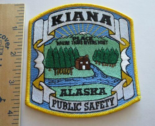 KIANA ALASKA PUBLIC SAFETY POLICE PATCH Vintage Original