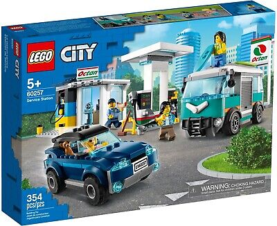 LEGO City Service Station 60257 Building Set