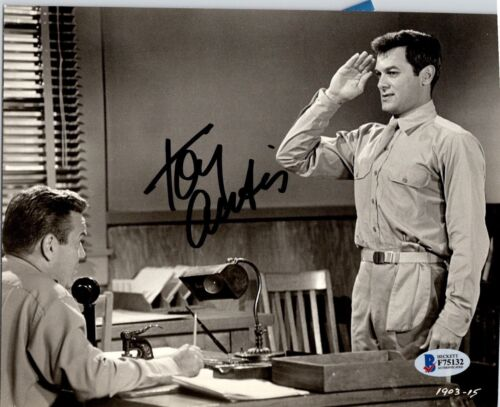 Tony Curtis Actor Vintage Autographed Photo BAS
