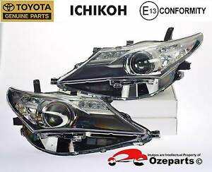 GENUINE Toyota Corolla Hatch ZRE182 12~15 LH+Head Light Halogen Dandenong Greater Dandenong Preview