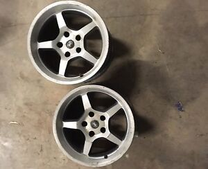5 rims (3 with old tyres) ROH ford rims Castle Rock Muswellbrook Area Preview