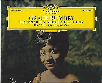 Grace Bumbry auf Deutsche Grammophon singt Verdi -- 25 cm LP von 1966